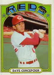 1972 Topps Baseball Cards      267     Dave Concepcion